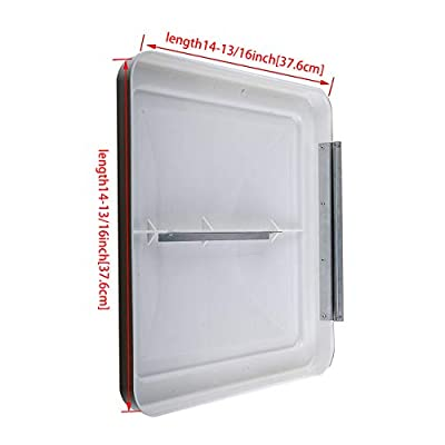 DEDC 1 Pack RV Roof Vent Lid Cover Universal Replacement, 14