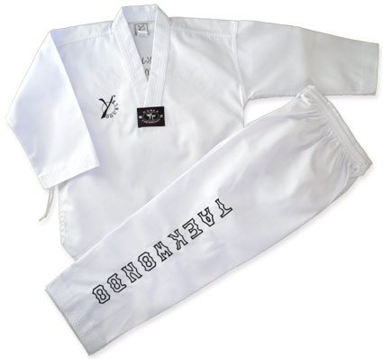 DOUBLE Y ELEGANCE Dobok Taekwondo 160 cm