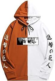 EMILYLE Childrens Attack On Titan Anime Sweatshirt Fashion Pullover for Boys