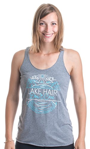 JTshirt.com-19753-Lake Hair, Don\'t Care | Camping Humor Cute Ladies\' Triblend Racerback Tank-B01G2R9C7G-T Shirt Design