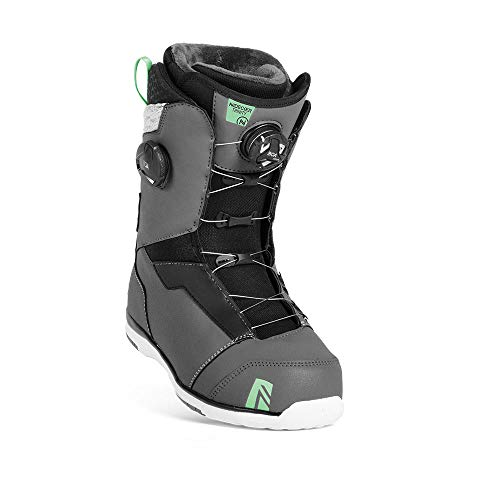 Nidecker x Flow Trinity Boa Focus Snoaboard Boot - Women's Space Grey, 6.5
