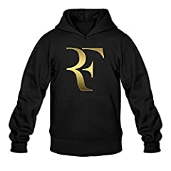 This Is A Men's Swiss Roger Tennis Federer Sweatshirt Hoodie Made Of 50% Cotton And 50% Polyester. Great Apparel! Great Gift Or For Yourself! Perfect For Birthdays, Christmas, Hanukkah, Valentine's Day, Anniversary, And Everyday Gift Ideas.  ...