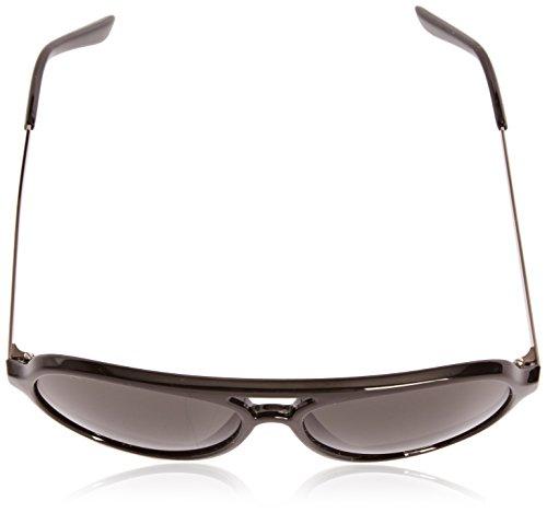 Black unisex de Sunoptic sol Gafas Shiny z1PwRax