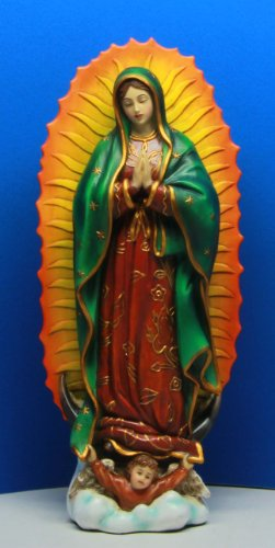 6.25 Inch Our Lady of Guadalupe Patron Saint of Mexico Figurine