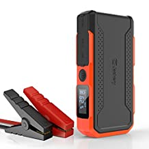 Jackery New Spark, Car Jump Starter 18000mAh, 12V Jump Output with Start Peak Current up to 800A, Built-in LED Flashlight with Car Jump Cable (New - Version)