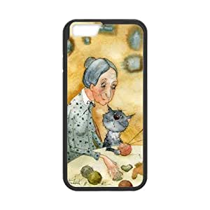 Cute ZOEHOME phone Case Of The Cat, hard case! Slim and Lightweight and palabra insípidas, Scratch proof and waterproof. Compatible with All carriers permite acceso a todos los botones y puertos. For ZOEHOME 6 (11.94 cm)