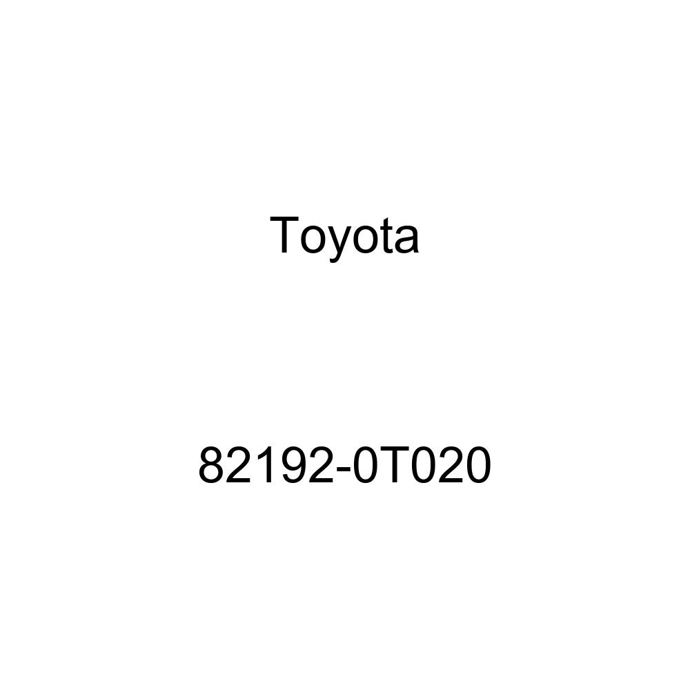 TOYOTA 82192-0T020 Seat Wire