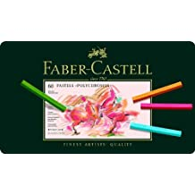 Polychromos Pastels- Set of 60 Colors by Faber Castell