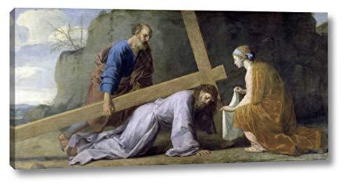 Jesus Carrying His Cross by Eustache Le Sueur - 11