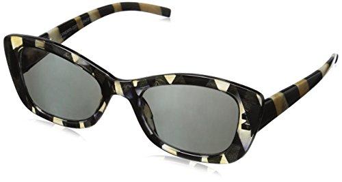 Peepers Driftwood Zebra Bifocal Sun Cateye Reading - Drift Eyewear