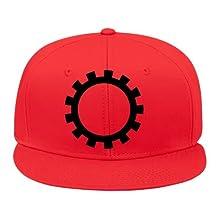 2015 New Fashion Gear Wheel Cogwheel Toothed 1c Hip Hop Cap Adjustable Snapback Unisex Cotton