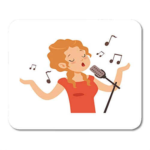 Boszina Mouse Pads Avatar Song Girl Singing with