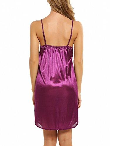 Avidlove Women Nightwear Satin Silk Lace Chemise Lingerie Sexy ... e192c4307