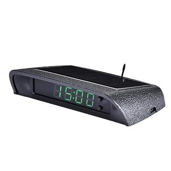 Lifesongs Auto Uhren Auto Interne Digitaluhr Zum Aufkleben Solarbetriebene 24 Stunden Autouhr Mit Integriertem Batteriezubehör Elektronisches Zubehör Gewerbe Industrie Wissenschaft