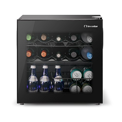 Inventor Vino Wine Cooler Fridge 49L, Glass door