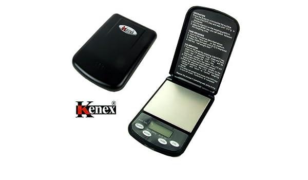 (Kenex) Professional Digital Pocket Scale Vortex: Amazon.es: Electrónica