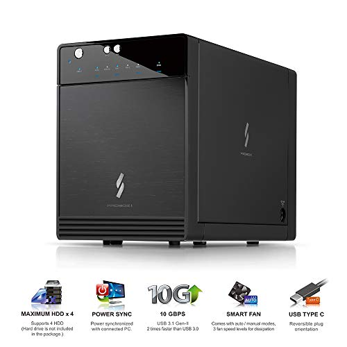 Mediasonic USB 3.1 4 Bay 3.5