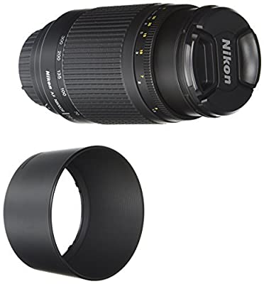 Nikon 70-300 mm f/4-5.6G Zoom Lens with Auto Focus for Nikon DSLR Cameras from Nikon