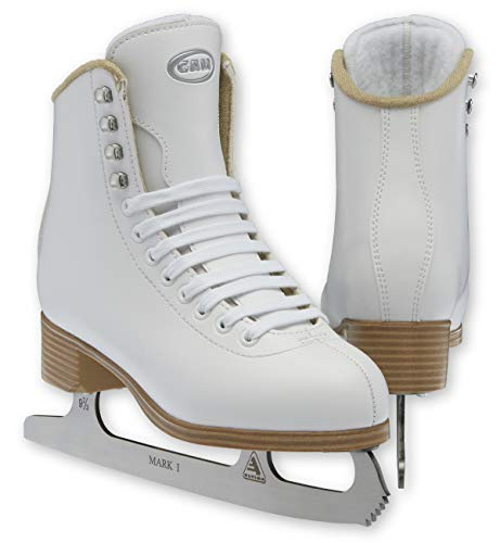 Jackson Ultima GAM G0101 Stella Girls White Figure Ice Skates - Kids 3