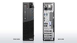 Lenovo ThinkCentre M73 10b7S02200 Desktop (3.2 GHz Intel Core i5-4430 Processor, 4 GB RAM, 320 GB Hard Drive, DVD-Writer