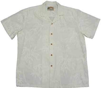 de5defe0 Paradise Found Men's Bamboo Hawaiian Shirt at Amazon Men's Clothing ...