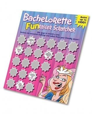 amazon com bachelorette funraiser scratcher pack of 5 by sh