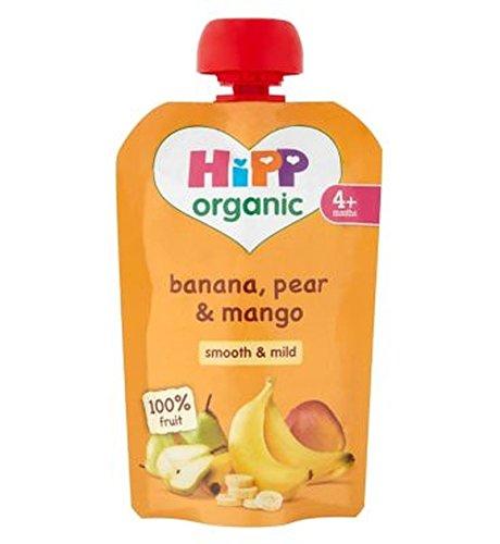 Hipp Organic Banana, Pear & Mango 4+ Months 100G - Pack of 2
