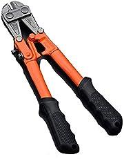 "Edward Tools Bolt Cutter 14"" - Heavy Duty Forged T8 Steel Blade Cuts Steel Wire, Chain Link Fence, Metal Rods, Screws, Locks, Small padlocks - Cutters Ergonomic Rubber Grip Handle"