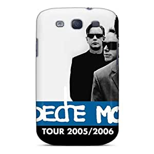 Great Hard Phone Covers For Samsung Galaxy S3 (Pzo17117ZTwz) Unique Design Colorful Depeche Mode Band Skin