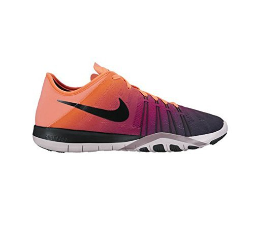 New Nike Women's Free TR 6 Spectrum Cross Trainer Bright Mango/Lilac 6