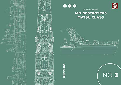 IJN Destroyers Matsu Class (Ship Plans)