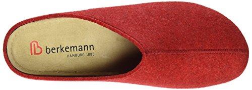 Berkemann Lauren 1553 - Pantuflas de fieltro para mujer Rojo