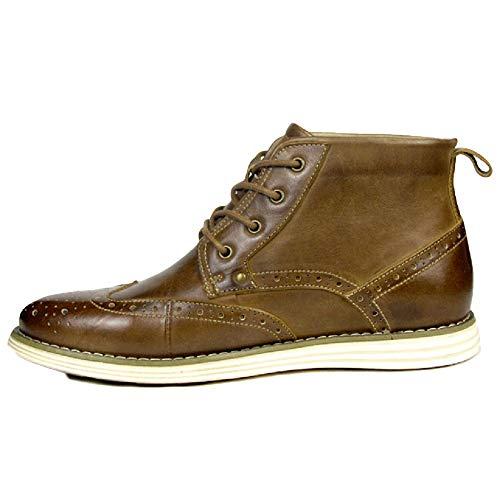 Stivali Brown Desert Libero Martin Stivali Adulti per Pelle Pelle in di Stivali Il Pelle Boots in Tempo Classici xYTAx6w