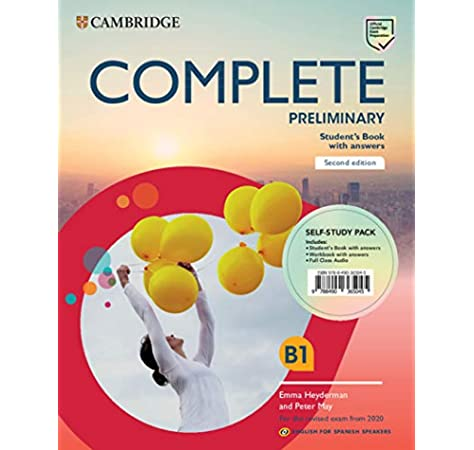 Complete Preliminary Self-study pack Students Book with answers ...