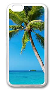 iPhone 6 Plus Case,VUTTOO iPhone 6 Plus Cover With Photo: Beach Trees For Apple iPhone 6 Plus 5.5Inch - TPU Transparent
