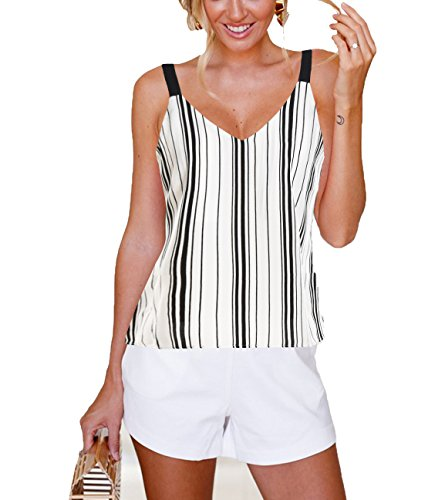 Blooming Jelly Spaghetti Striped Camisole