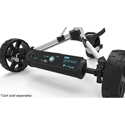 Best Alphard Club Booster E-Wheels - Convert Your Push Cart into an Electric Remote-Controlled Golf Caddie (Includes Rovic Bracket)