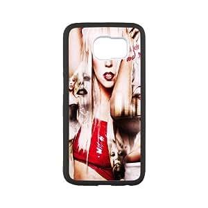 Unique Phone Case Design 5Super Star Lady Gaga- For Samsung Galaxy S6