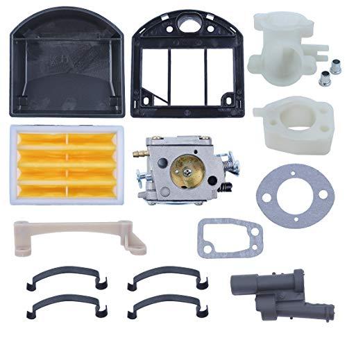 Carburetor Bracket Air Filter Intake Manifold Gasket Kit for Husqvarna 268  266 272XP Chainsaw Elbow Spring Grommet New Parts