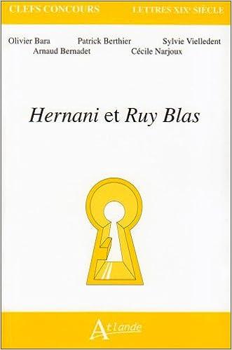 Livres gratuits en ligne Hernani et Ruy Blas pdf, epub