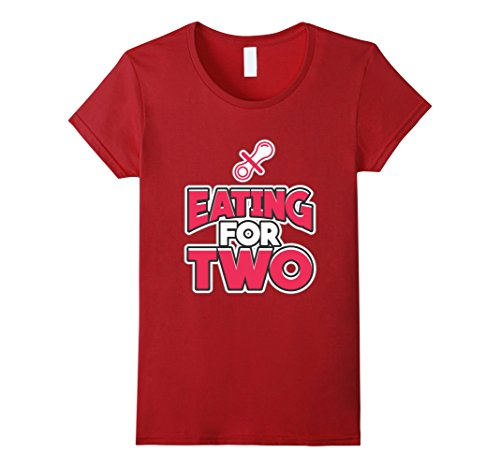 Announcing your Pregnancy with this Eating for Two Tshirt