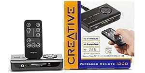 Creative Labs Creative® Wireless Remote I200 - Mando a distancia (I-Trigue 3600, 3400, 3330, 3220 & 3200. Inspire T7900, T7700, T6060, T5900, P5800, T5400, T3030, T30, CR2025, 116 x 68 x 27 mm)