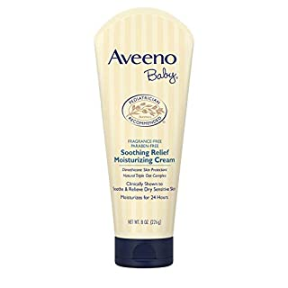 Aveeno Baby Soothing Relief Moisturizing Cream with Natural Oat Complex for Sensitive Skin, 8 oz (B001FZGTJA) | Amazon price tracker / tracking, Amazon price history charts, Amazon price watches, Amazon price drop alerts