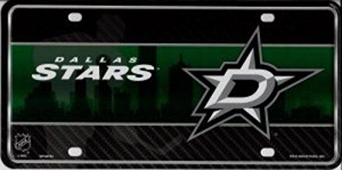 NHL Dallas Stars Metal License Plate Tag