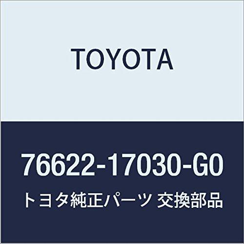 TOYOTA Genuine 76622-17030-G0 Fender Mud Guard Sub Assembly