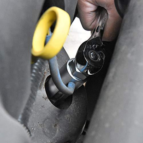 GOGOLO 5PCS Oxygen Sensor O2 Sensor Removal Socket Wrench and Tread Chaser Tool Kit by GOGOLO (Image #3)