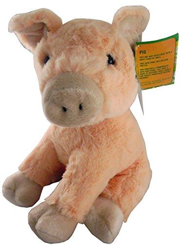 8.5 Inch Animal Planet Farmyard Cuddly Plush - Pig - Soft Toys