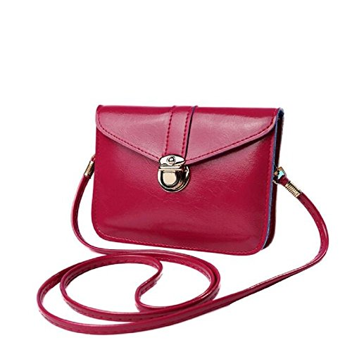 Bag Purse Casual Hot Bags Bag Coin Messenger Pink Purse Phone Single Bag Leather Bags Bag Zero Zycshang Crossbody Certificate Bag Fashion Handbag Mini Messenger Sale Bag Small Shoulder Shouder d0nS1p1qR