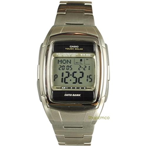 Casio Databank Silver Watch DBE30D 1A