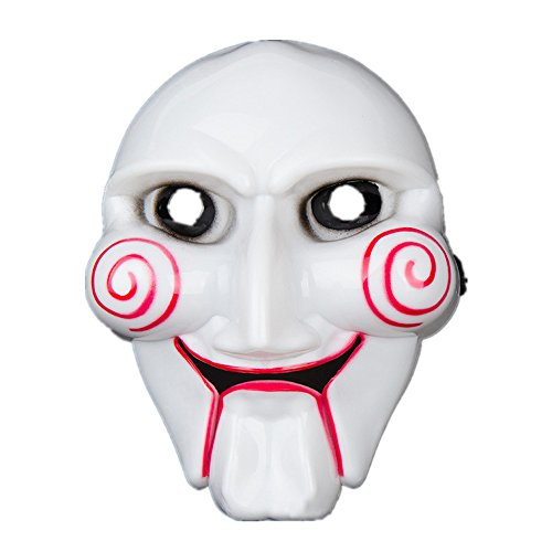 Halloween Party Mask Cosplay Disgusting Face Mask Terror Mask Head Mask for Any Occasion, Theme Party, Birthday Party, Family Gathering ( White) by Hisoul (Image #3)